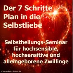 7 Schritte Plan zur Selbstliebe - Seminar