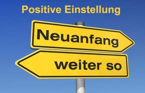 positive einstellung